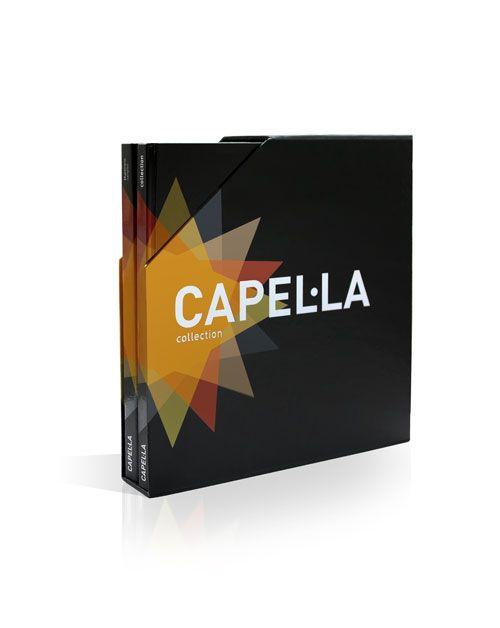 Capel.la brochure design