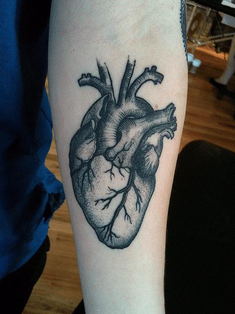 Pin On Black Heart Tattoos For Men