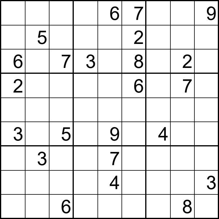 Sudoku Para Imprimir Nº 10 Enseñar La Cursiva Sudokus Imprimir Sobres