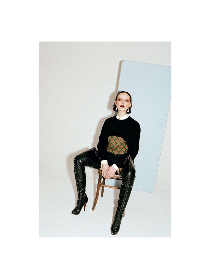 Dempsey Stewart by Greta Ilieva for Under the Influence S/S 2012