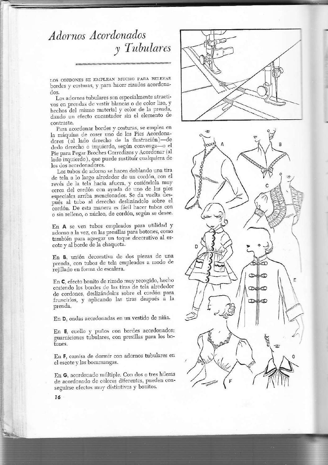 Metodo singer de corte y costura 1959 | PATRONAJE BASICO | Costura ...