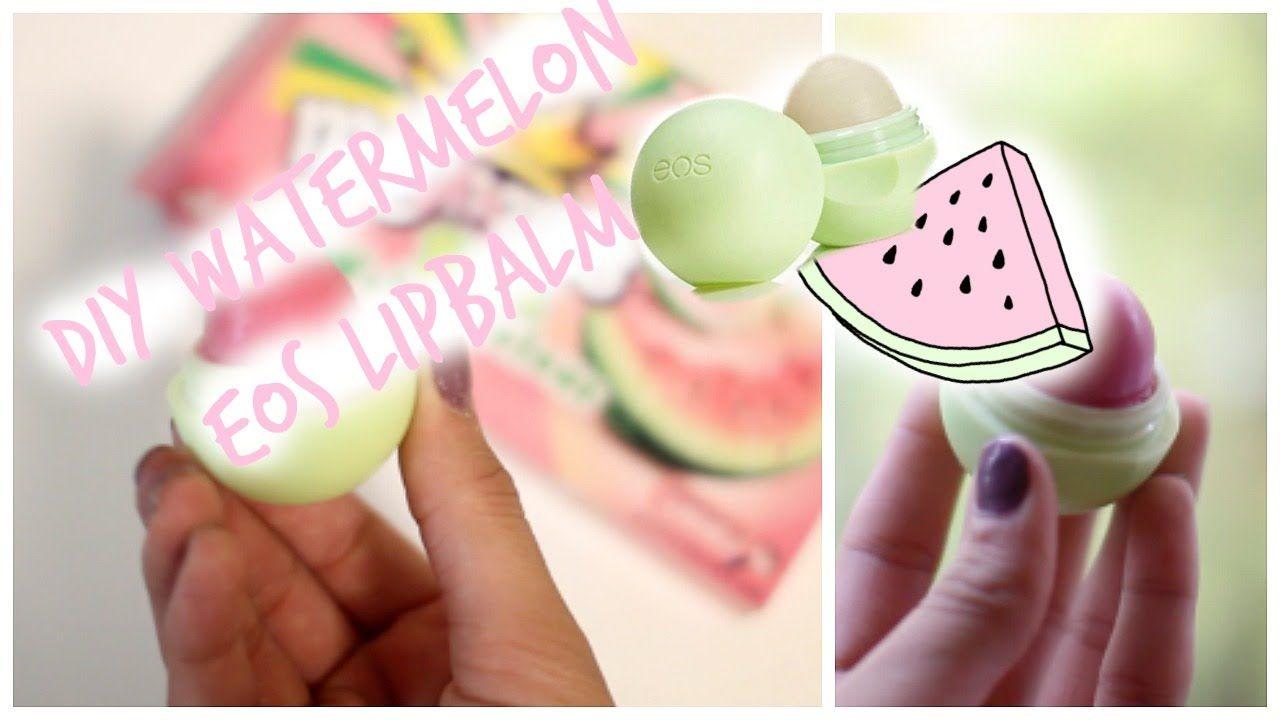 DIY EOS Watermelon Lipbalm!