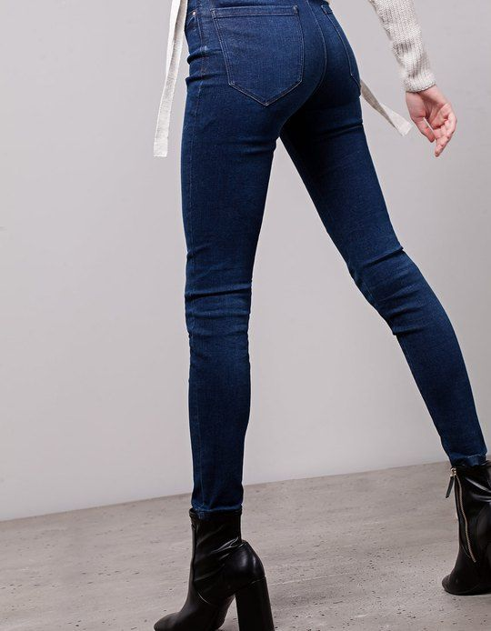 Cheap Visa Payment Clearance Recommend Stradivarius Basic Super High Waist Trousers Outlet Eastbay ISrFv