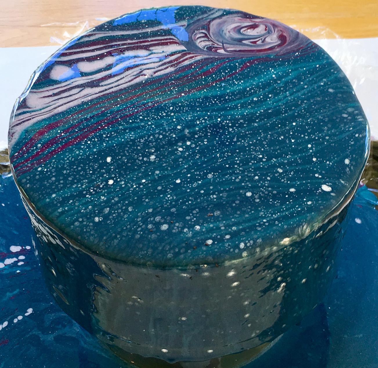 how to make a glaze cake