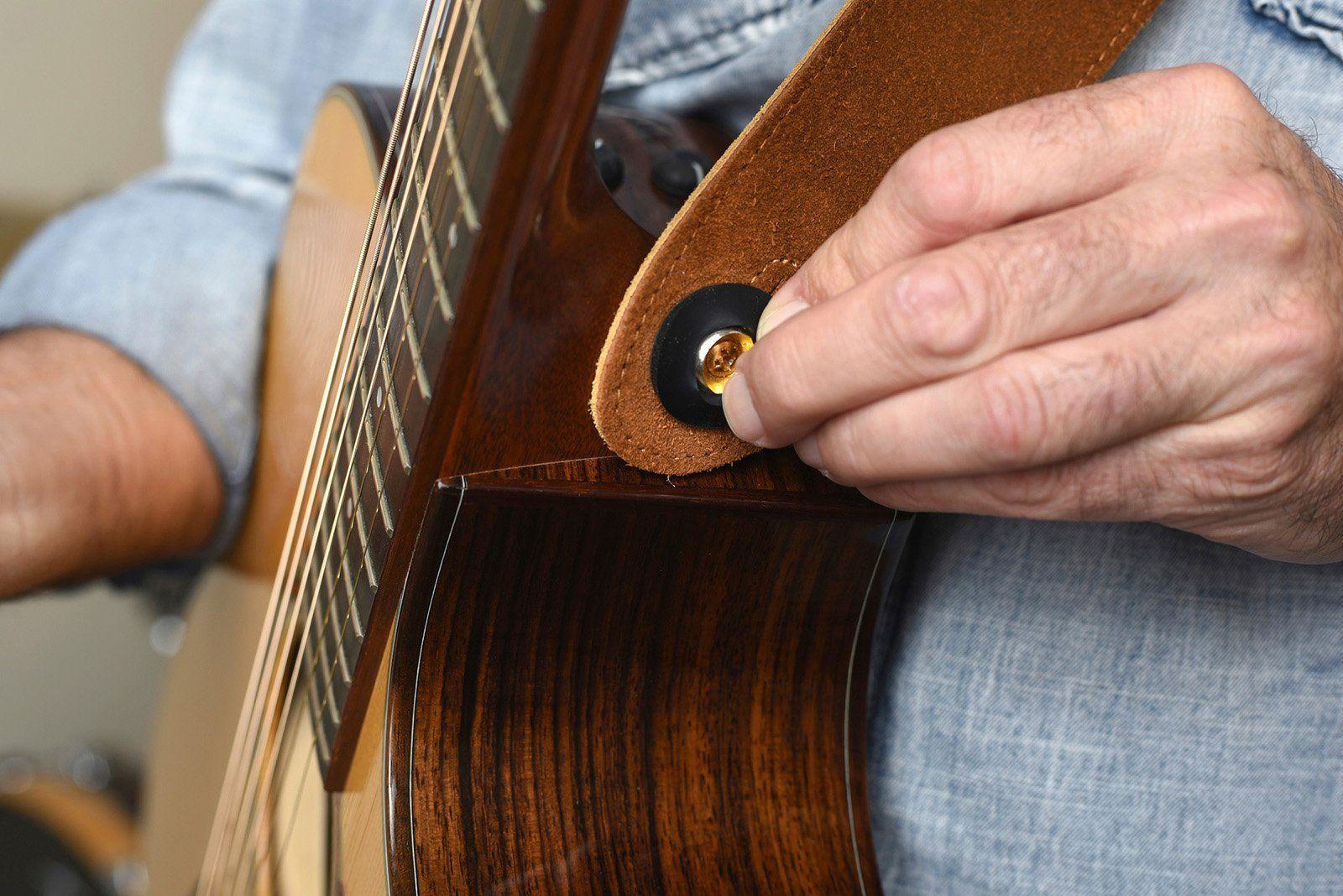 Strap Jack Guitar Strap Lock System For Acoustic Electric Guitars 1 Pack Visit The Image Link More Acoustic Electric Guitar Acoustic Electric Guitar Strap