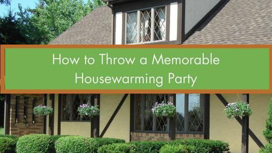 How to Throw a Memorable Housewarming Party | SK Builders & McAlister Realty Your new house isn't going to celebrate itself — that's where a housewarming party comes into the picture! Housewarming parties needn't be a dime-a-dozen experience. In fact, with a little old-fashioned creativity and some planning, you can throw one that's talked about for months to come.