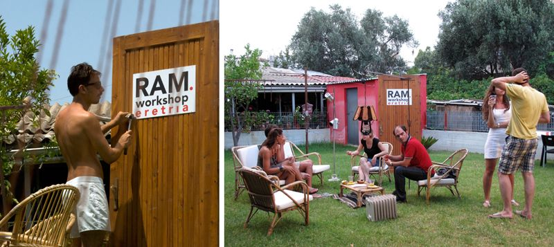 RAM workshop | CTRLZAK | Eretria, Greece