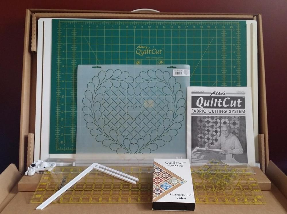 Alto Quilt Cut 1 One Fabric Cutting System Quilting Board #1674 ... : quilt cutting system - Adamdwight.com