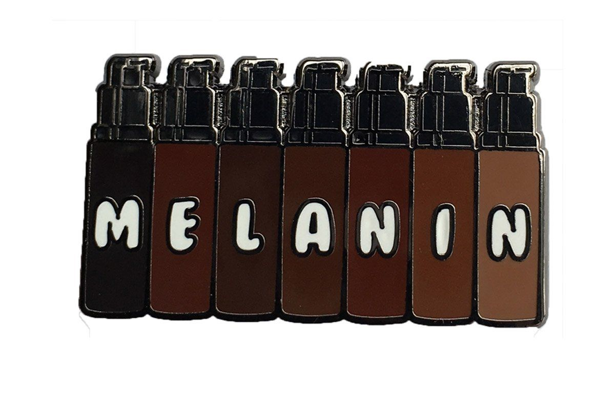 Show Melanin Pride With This New Foundation Shade Inspired Pin Foundation Shades Black Women Art Black Aesthetic Wallpaper