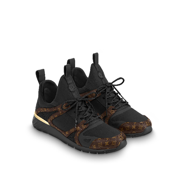 be07124bf15f Louis Vuitton Aftergame Sneaker In Noir