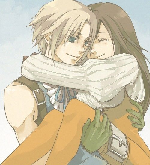 Zidane And Garnet - Final Fantasy IX