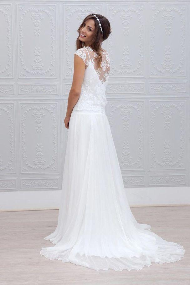 bc7cfdbcada Pinterest   les 50 plus belles robes de mariées bohèmes