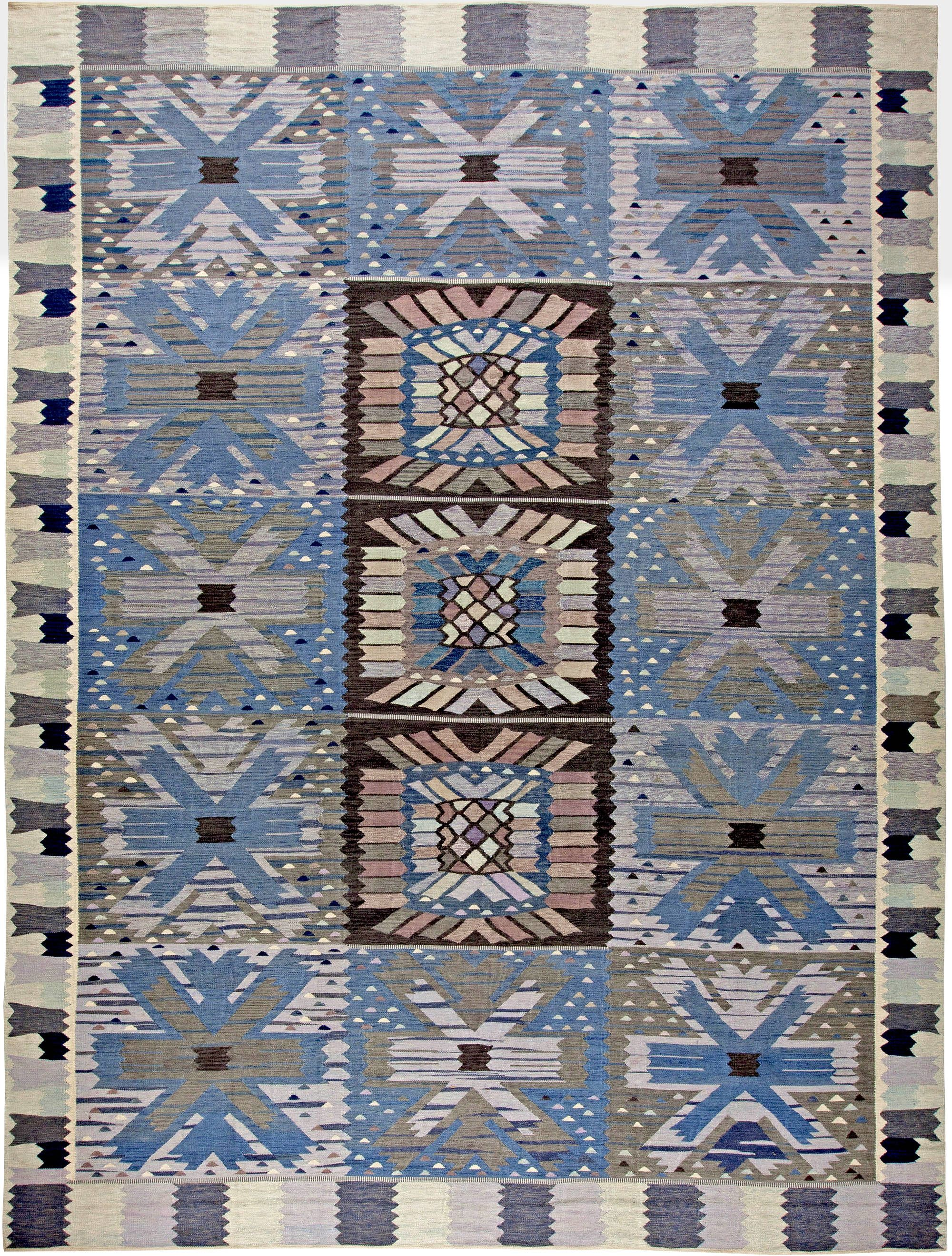A Swedish Design Rug Size 16 5 X 12 4 Contemporary Hand Knotted Wool Price 24 000