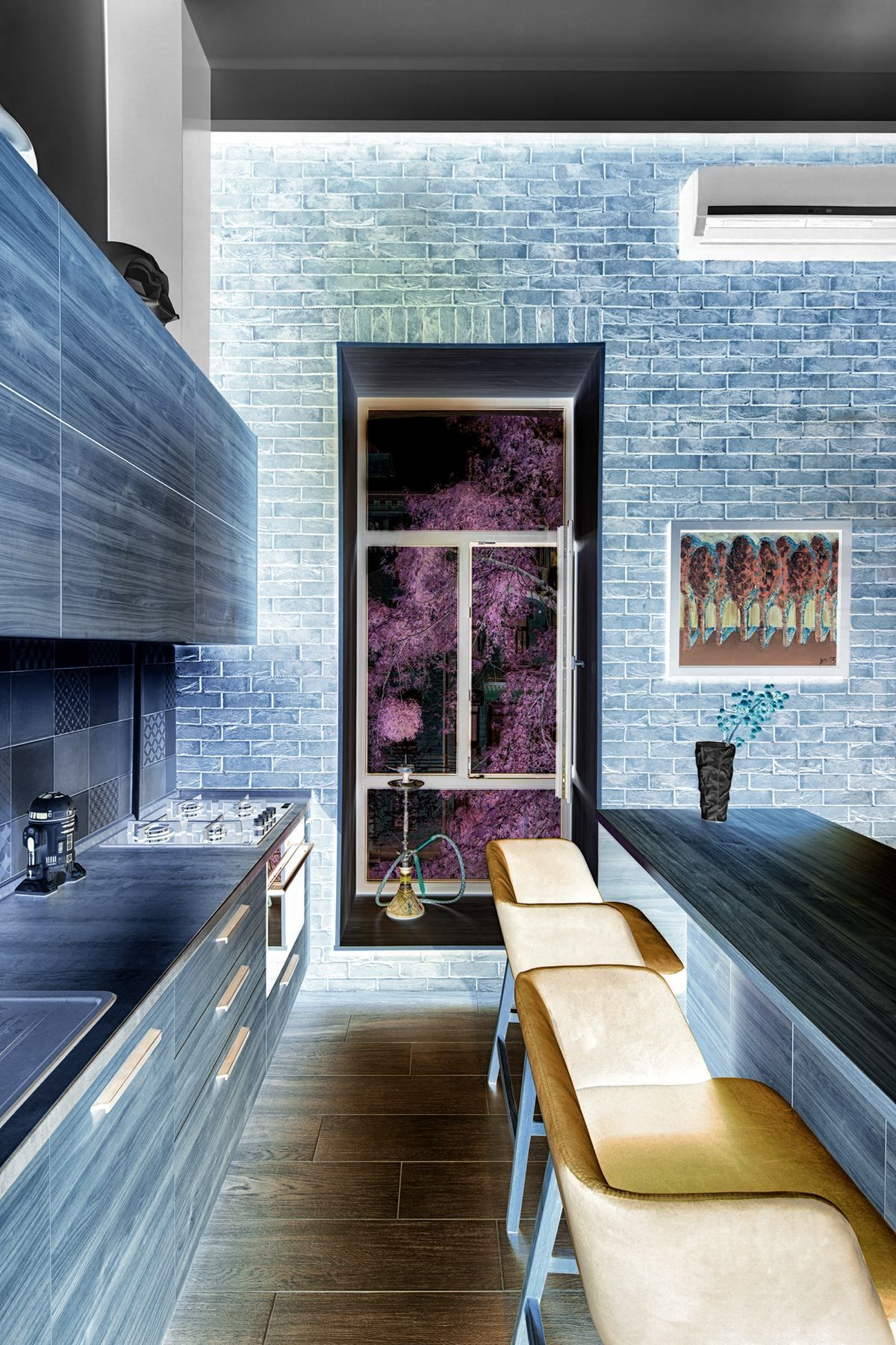 Small apartments offer a homely haven from the outside world u but