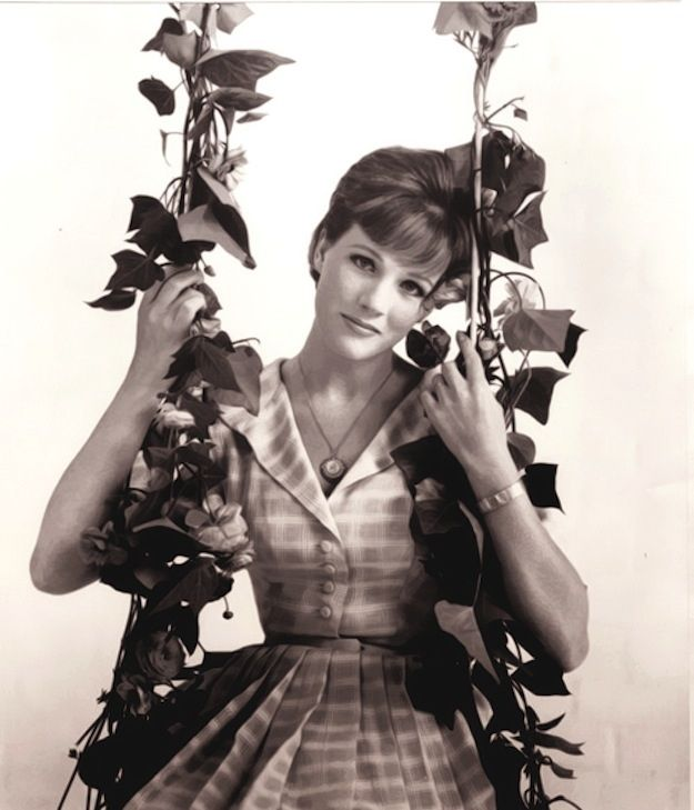 <b>Happy birthday, Julie Andrews!</b> Herewith, 77 vintage photos of a truly wonderful woman.