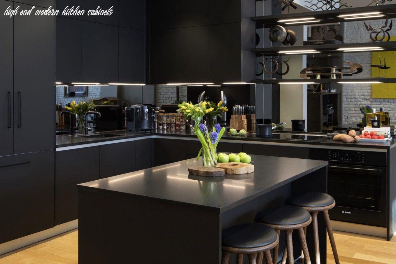 10 High End Modern Kitchen Cabinets En 2020