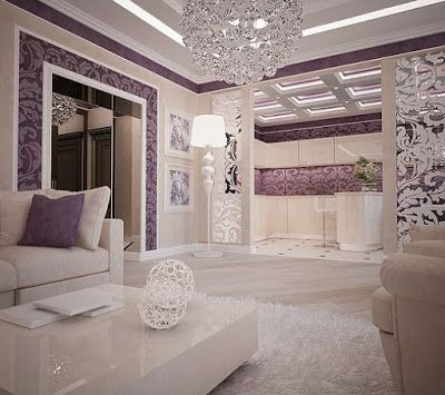 purple interior design ideas color schemes wall paint on interior design painting walls combination id=96208