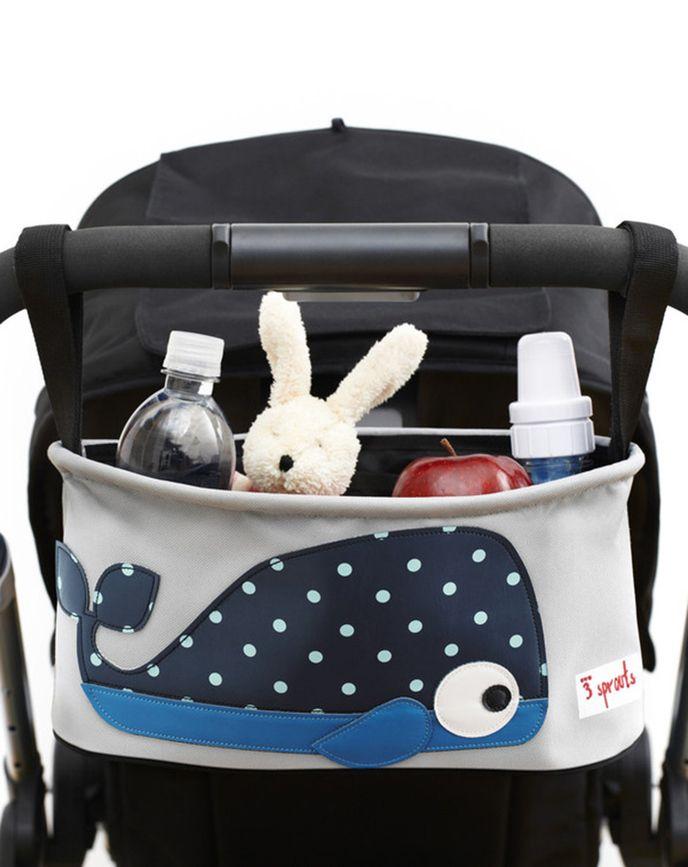 kinderwagen tasche wal in grau blau kinderwagen zubehoer kinderwagen baby und n hen baby. Black Bedroom Furniture Sets. Home Design Ideas