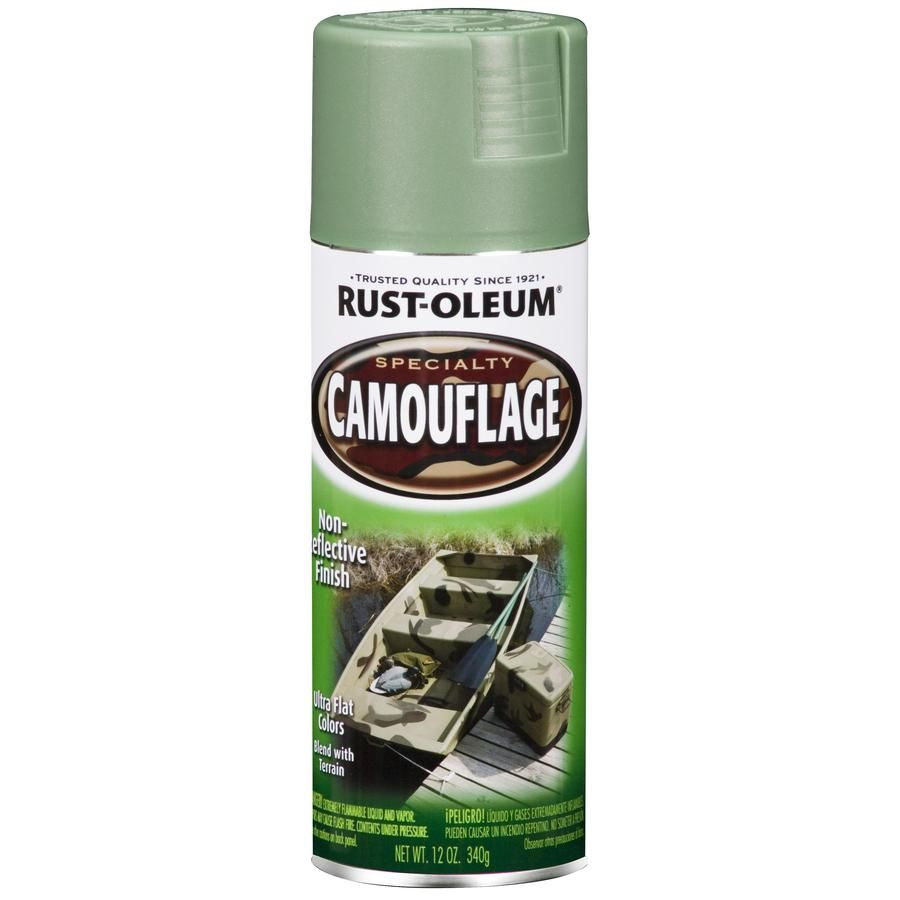 Shop Rust-Oleum Army Green Camo Indoor/Outdoor Spray Paint at Lowes
