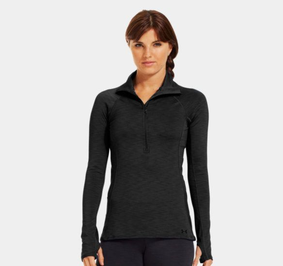 dd80aec6e6 Women's UA Coldgear Cozy ½ Zip | Under Armour US | Fitness: Fashion ...