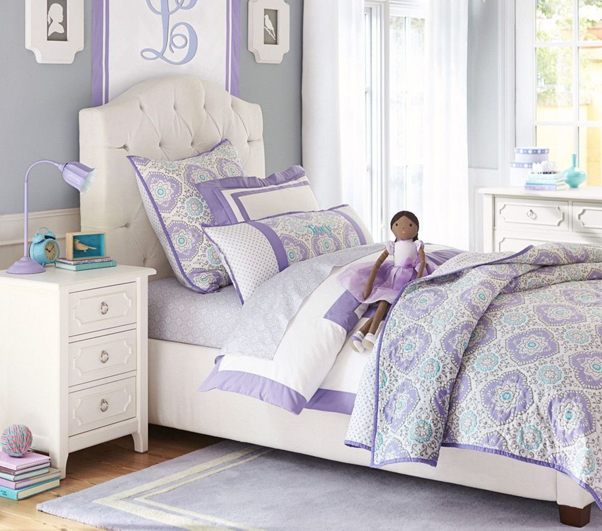 Eliza Tufted Bed Pottery Barn Kids Australia Kid room