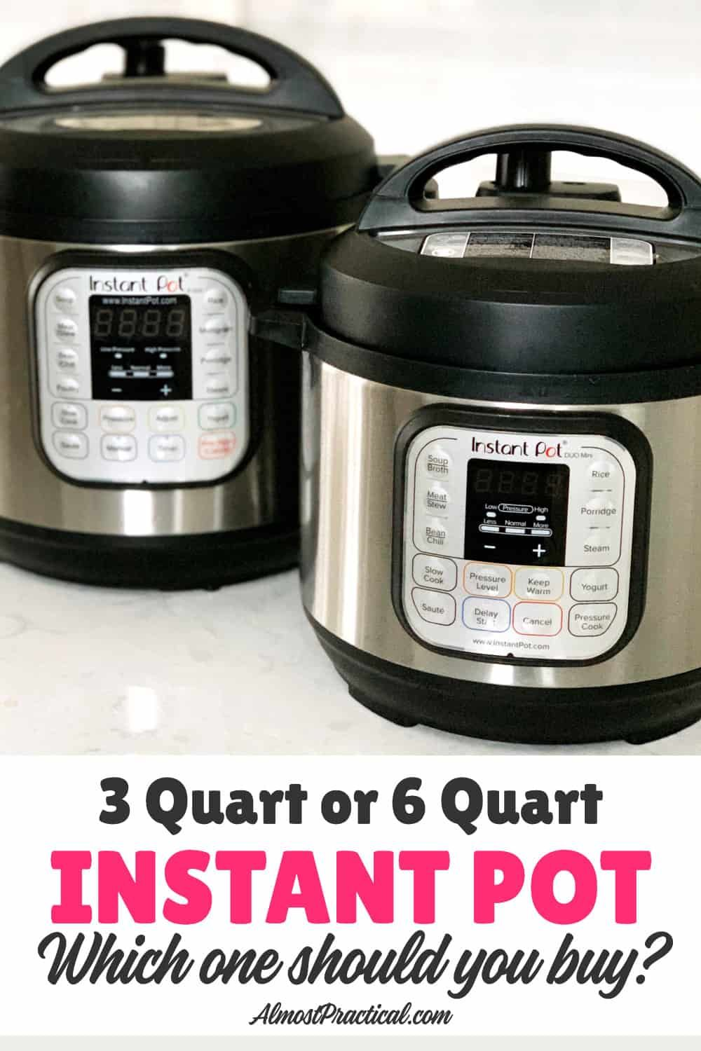 how to measure pressure cooker size