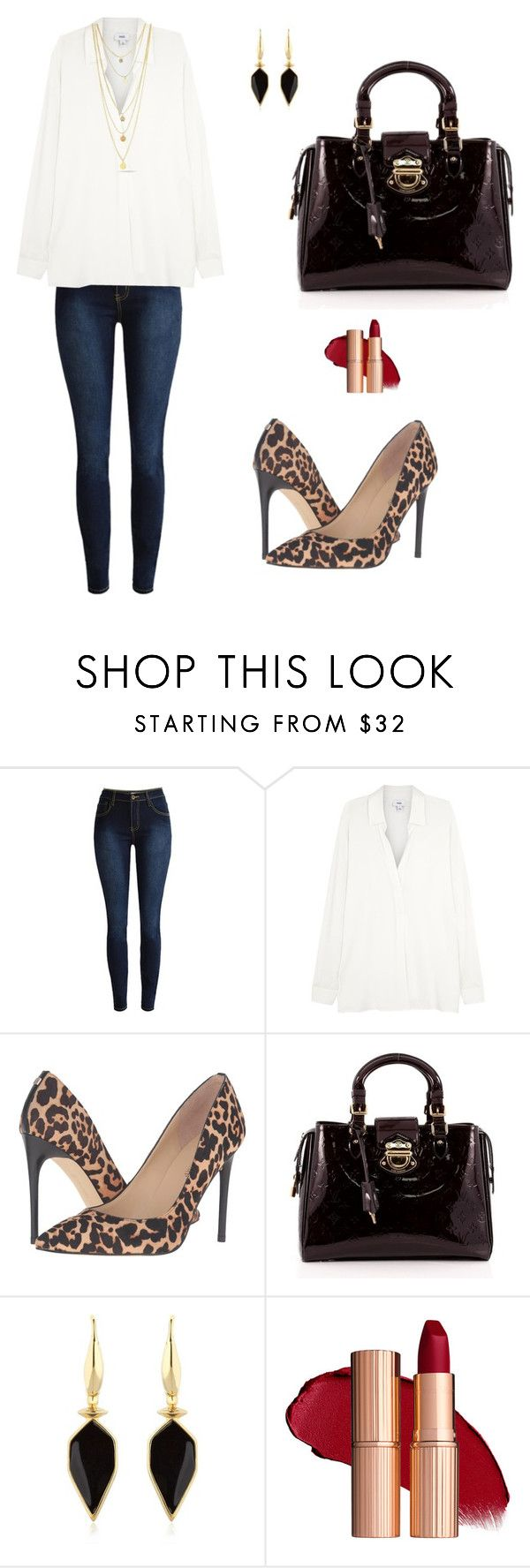 """Untitled #251"" by mariafilomena471 ❤ liked on Polyvore featuring Vince, Ivanka Trump, Louis Vuitton and Isabel Marant"