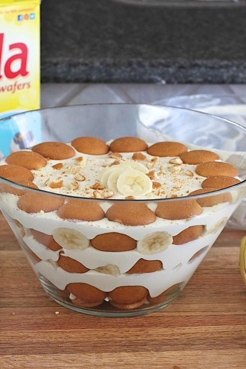 The Best Banana Pudding The Bakermama Banana Pudding Desserts Best Banana Pudding Banana Pudding Recipe With Sour Cream