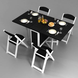 model meja makan lipat terbaru | meja makan, meja, makanan