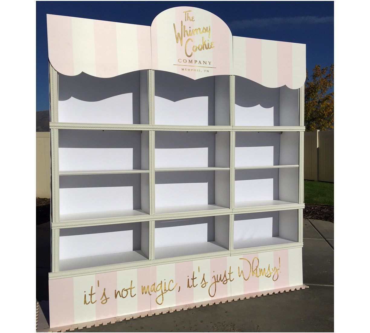 use ikea shelves or wooden from garage use velcro with cardboard rh pinterest com