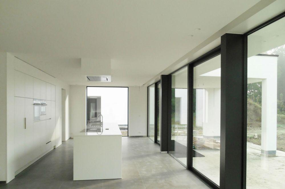 Architectenkantoor: Cruysweegs - Halsberghe Architectenbureau - LEW woning in het groen