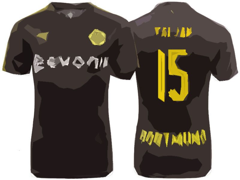 Maillot Extérieur Borussia Dortmund Jeremy Toljan