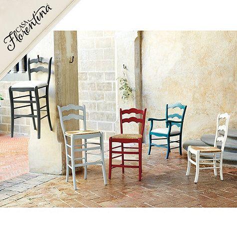 Casa Florentina Genoa Counter Stool With Linen Seat