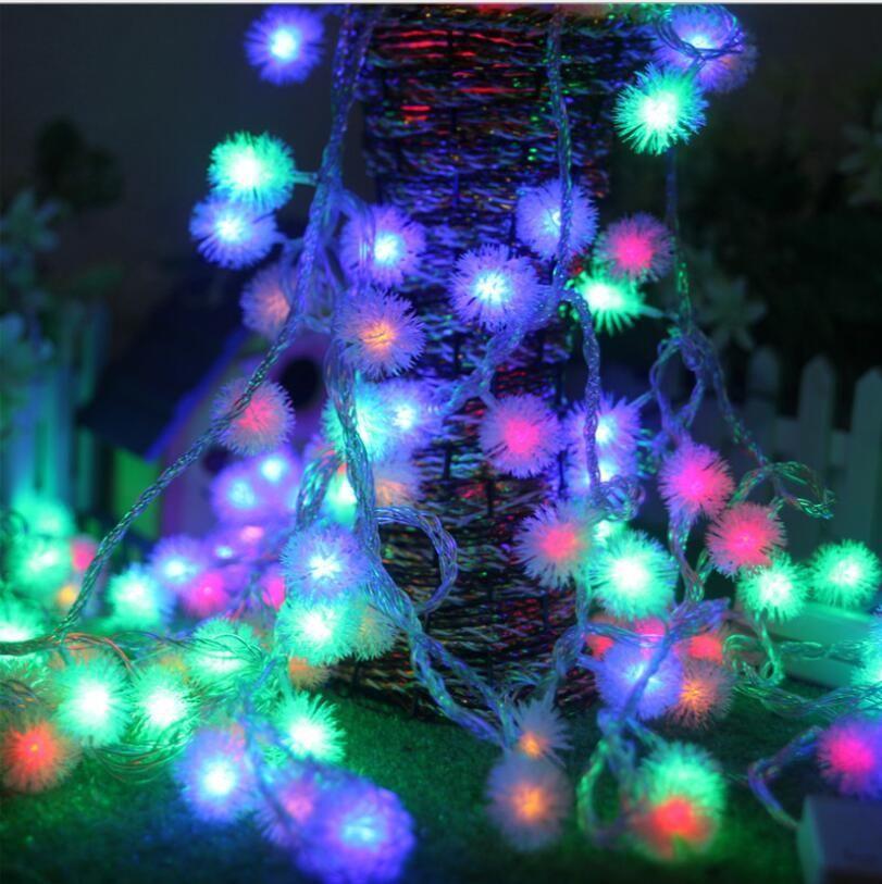 10m 100 leds 220v waterproof outdoor rgb led string lights christmas