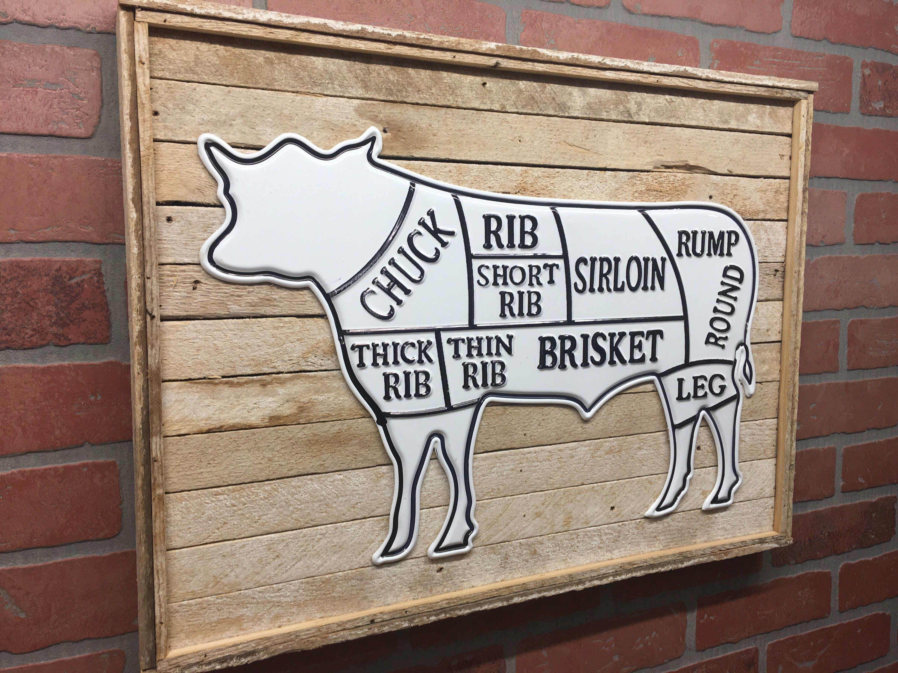 Rustic Metal Cow Wood Wall Decor Etsy Cow Kitchen Decor Cow Decor Cow Wall Decor