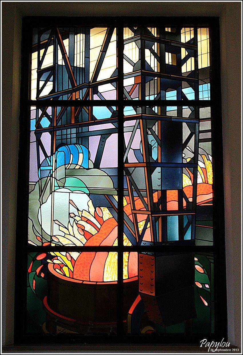 Vitraux Majorelle à Longwy Stained glass windows