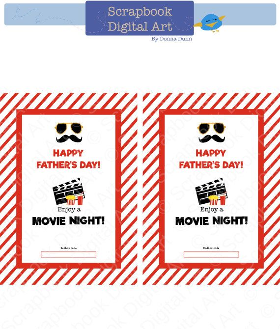 photo regarding Free Printable Redbox Gift Tags identify Fathers Working day Printable Present, Printable Redbox Present Tag