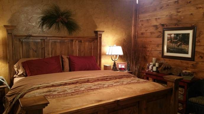 Rustic Cabin Manufactured Home Remodel Mobile Home
