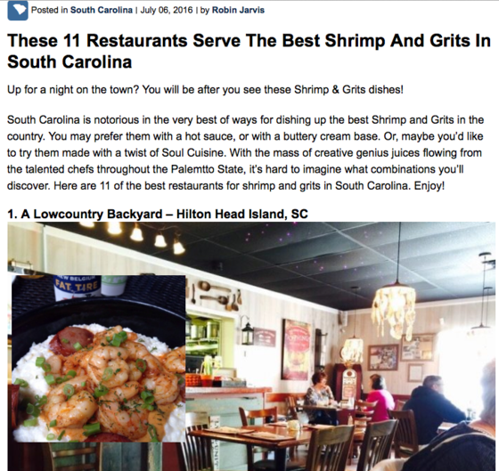 These 11 Restaurants Serve The Best Shrimp And Grits In ...