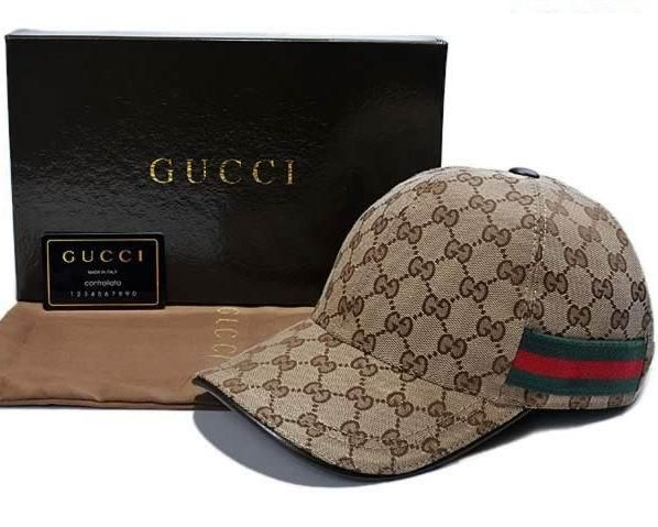 06dd490d Gucci GG Pattern Baseball Hat with Web Detail | Outfit Ideas ...