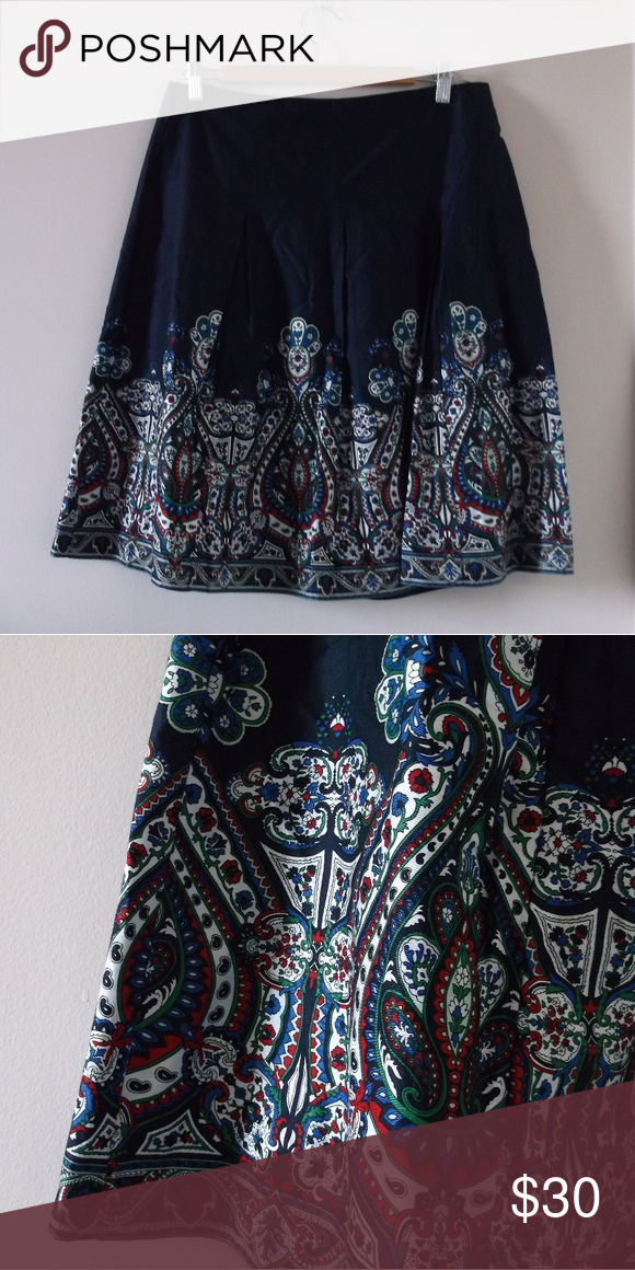 a70fa1497d Talbots floral paisley printed bohemian midi skirt Never worn, brand new  condition. I just