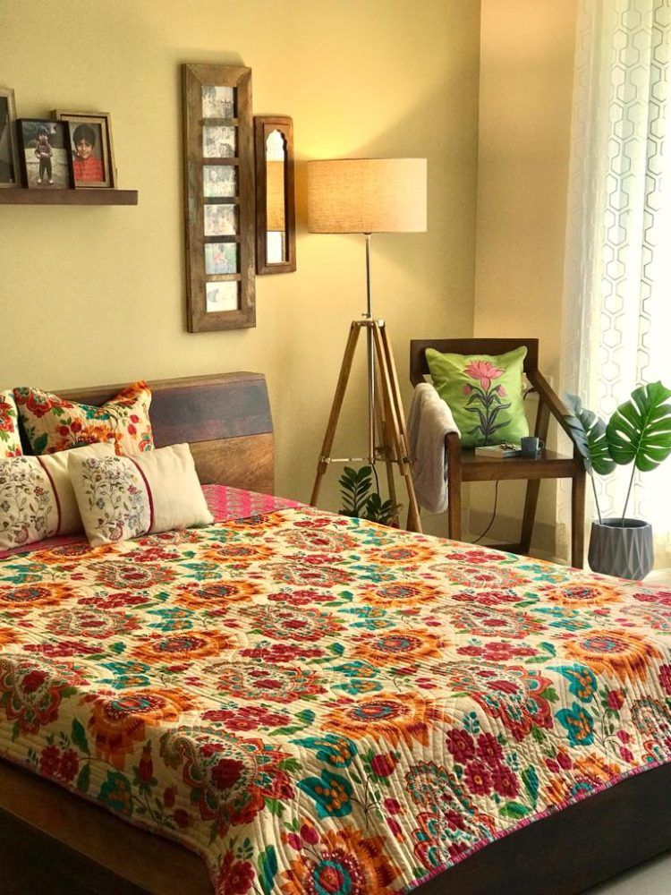 How To Decorate Master Bedroom Indian Home Tour Neha S