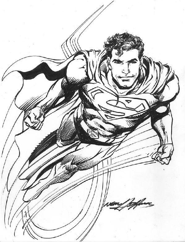 Superman By Neal Adams Nealadams Superman Clarkkent Kalel