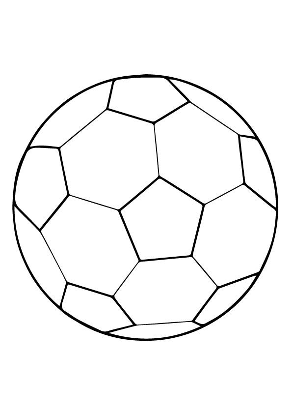 25 Popular Soccer Ball Coloring Pages For Soccer Loving Kids Sports Coloring Pages Soccer Ball Soccer Ball Crafts