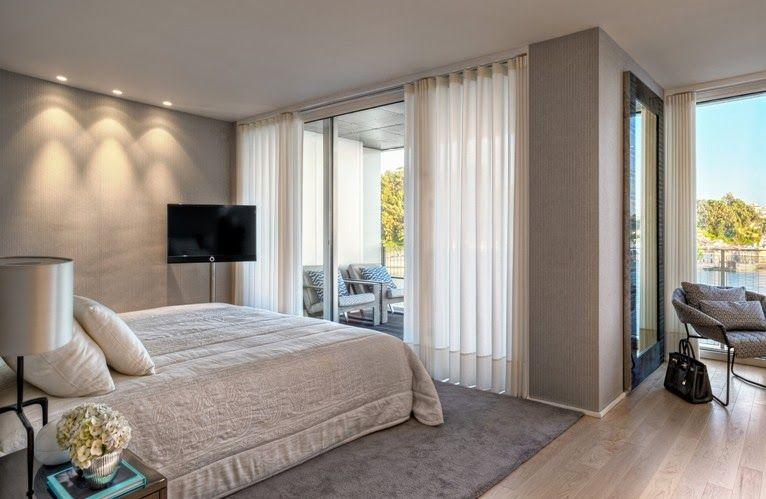 Dormitorio Principal Con Vestidor Y Balcon Habitacion Diseno Dormitorios Terrazas Interiores