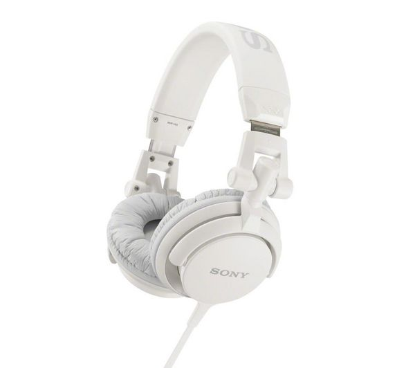 94253ab36eb Buy SONY MDR-V55 Headphones - White   Free Delivery   Currys ...
