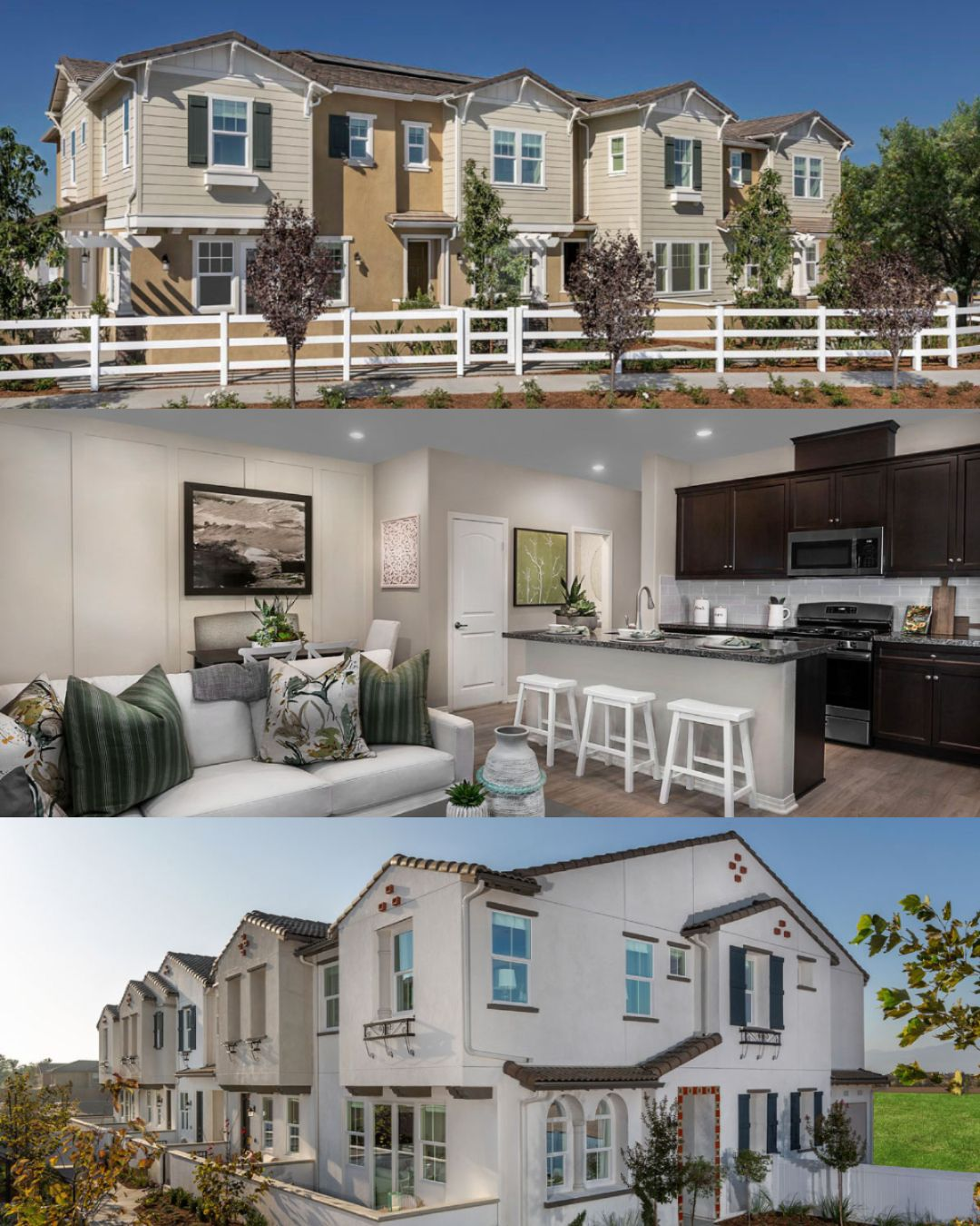 Looking To Purchase A New Condominium Check Out These Communities In The Inland Empire Now Selling Waypoint At Eagle Homes New Homes For Sale New Homes