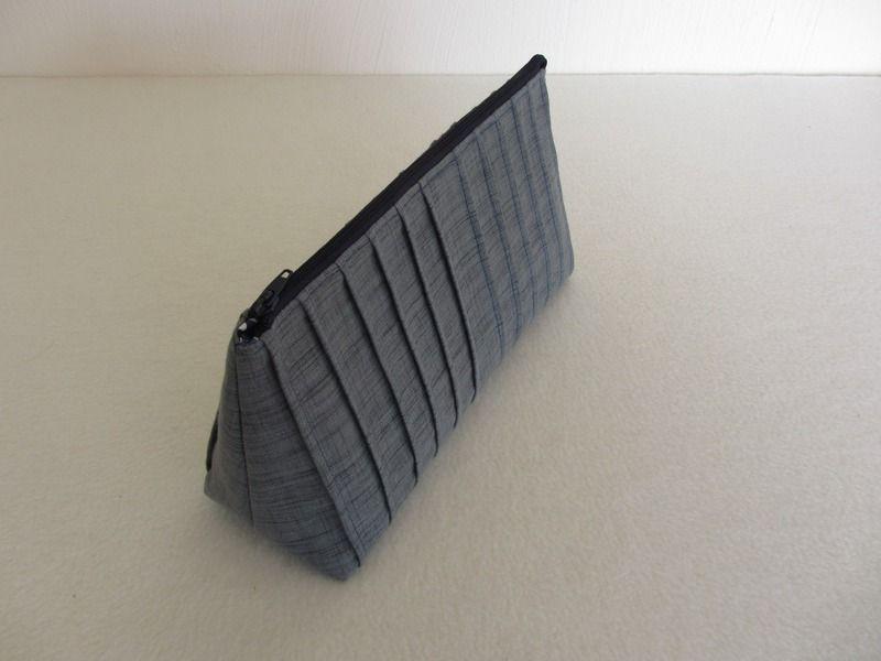 elegante falten tasche blau grau schwarz modern von made by quilt it out auf blau