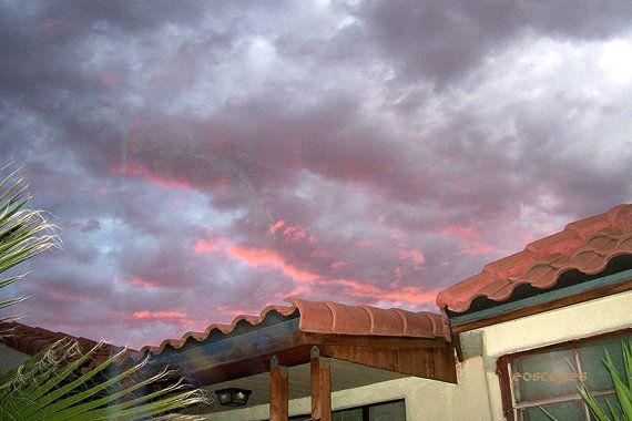 It was a Dark and Stormy Evening - Chris Scheel artist