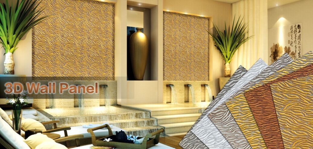 3D wall panel available in different texture and color at ZHKitchen ...